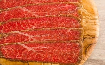 極上赤身肉のカルパッチョ